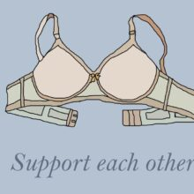 Support Each Other - Jenna Tilley